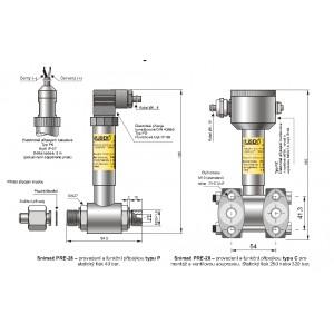 Snímač tlakových rozdílů PRE-28