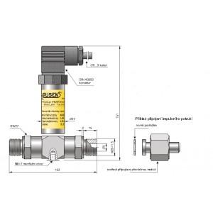 Snímač tlakových rozdílů AS-DP