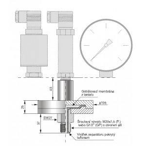 Kompaktní separátory chemicky odolné typu S-CompCh