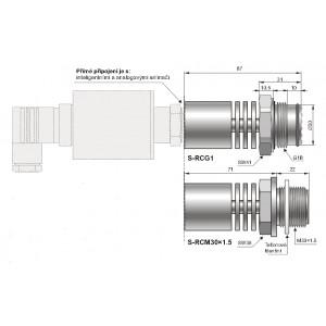 Separátory typu S-RC pro média horká, viskózní,srážlivá a nebo prosycená částečkami prachu