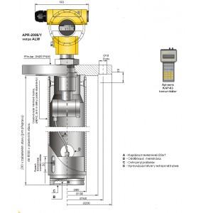 APR-2000/Y pro tlakové nádrže