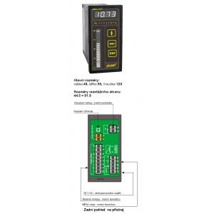 Panelový měřící přístroj PMS-770T
