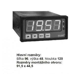 Panelový měřící přístroj PMS-970P